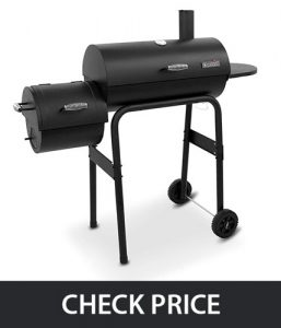 Char-Broil Offset Smoker – Combination Smoker, BBQ & Charcoal Grill