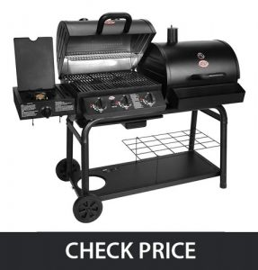 Char-Griller 5050 – Duo Gas and Charcoal Grill