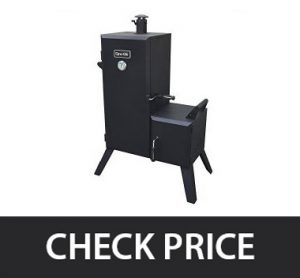 Dyna-Glo DGO1176BDC – Vertical Offset Charcoal Smoker with Cover