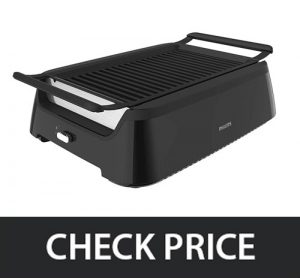 Philips HD6371 – Smoke-less Indoor BBQ Grill