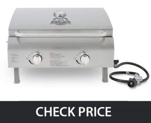 Pit Boss Grills 75275 – Stainless Steel Portable Grill
