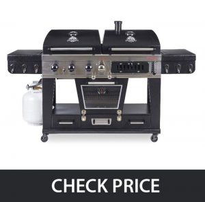 Pit Boss Memphis Ultimate – 4-in-1 LP Gas, Charcoal, Smoker