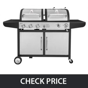 Royal Gourmet – Gas Grill and Charcoal Grill Combo