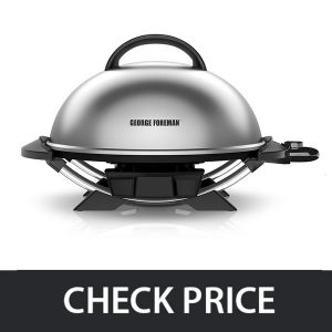 George Foreman GFO240S – Indoor Outdoor Electric Grill