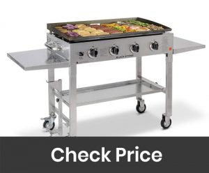 Blackstone 36 inch Stainless Steel Outdoor Cooking Gas Grill