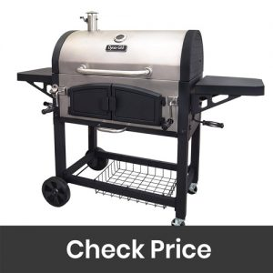Dyna Glo DGN576SNC D Dual Zone Charcoal Grill