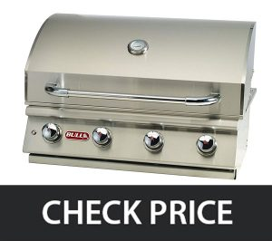 Bull Outdoor 87049 - Natural Gas Drop-In Grill