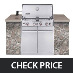 Weber Summit S-460 - Built-In Natural Gas
